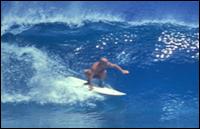 Yvon pegando onda. Photo: unknow - from www.grist.org