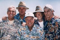 The Tornadoes - Roly Sanders, Lenard Delaney, Jesse Sanders, Joel Willenbring, Gerald Sanders.