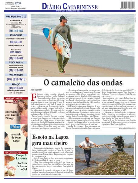 Diario Catarinense | 29/09/2007