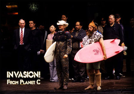 Invasion!From Planet C The Sci-Fi Surf Movie