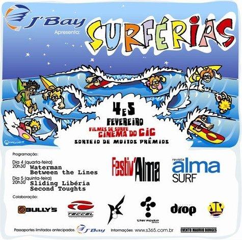 J'BAY SURFÉRIAS VERÃO 2009