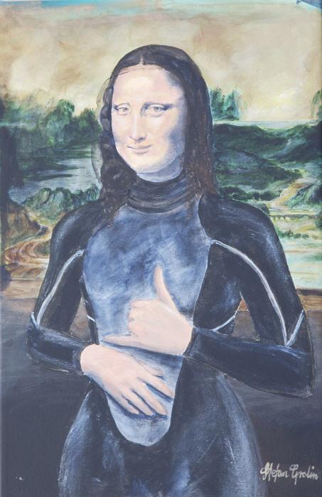 Mona Lisa amarradona