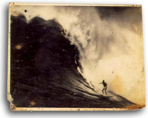 Peter Cole, Waimea Bay, circa 1967