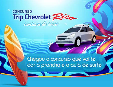 Concurso Trip Chevrolet Rico