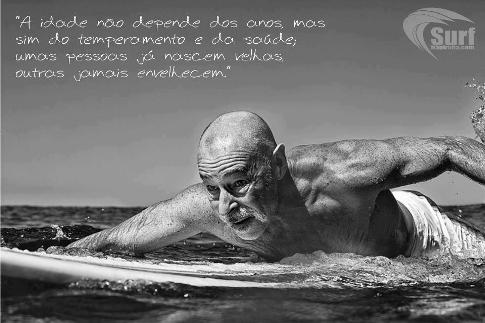 A idade não depende dos anos, mas sim do temperamento e da saúde; umas pessoas já nascem velhas, outras jamais envelhecem.